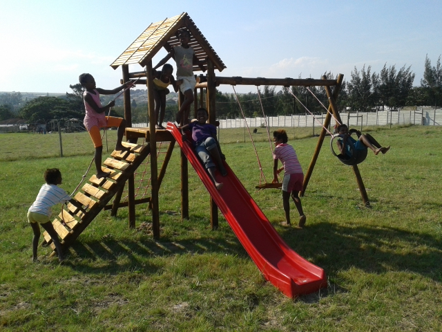 nieuwe jungle gym