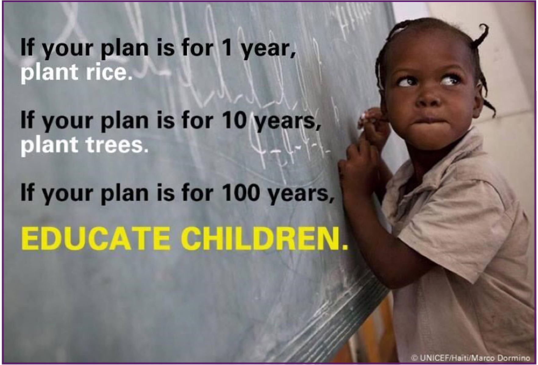 100j educate children